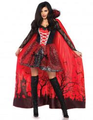 Kostume fristende vampyr med aftagelig krave til kvinder Halloween