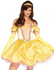 Kostume prinsesse i gul til kvinder