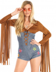 Kostume sexet hippie til kvinder