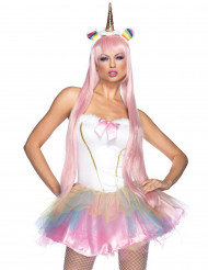 Kostume fantasi unicorn til kvinder