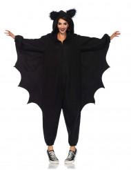 Flagermus dragt til voksne - Halloween kostume
