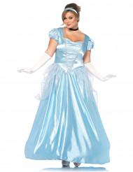 Kostume prinsesse i blå til kvinder