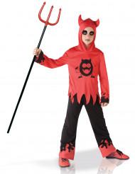 Kostume djævel med monster på maven til drenge