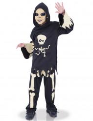 Kostume skelet med bevægelige øjne