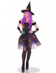 Kostume heks spindelvæv multifarvet til kvinder