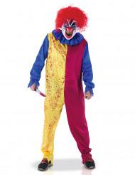 Kostume psykopat klovn til voksne