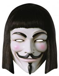 Maske i pap V for vendetta™ til voksne