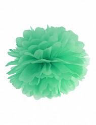 Pompon i papir mint 25 cm
