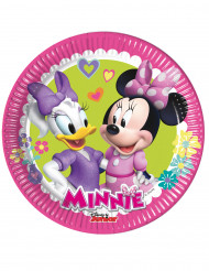 8 Små tallerkener Minnie Happy™