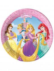 8 Paptallerkner 20 cm Princesses Disney Dreaming™