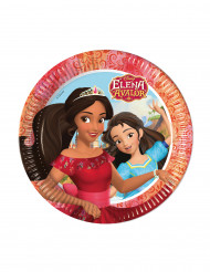 8 stk paptallerkener med Elena fra Avalor™ 23 cm