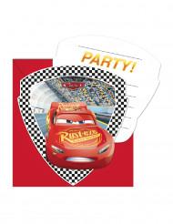 6 Invitationskort  + kuverter Cars 3™