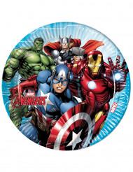 8 paptallerkener Avengers Mighty™