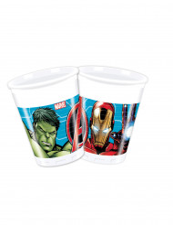 8 plastikkrus Mighty Avengers™ 20 cl