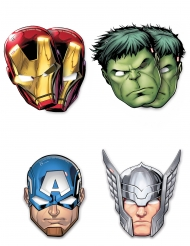 6 masker i pap Avengers Mighty™