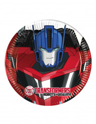 8 Små paptallerkener Transformers RID™ 20 cm