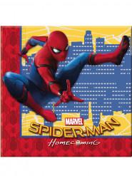 20 Papirservietter - Spiderman Homecoming™ 33 x 33