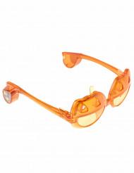 Lysende græskar briller til voksne