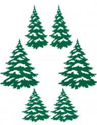 Klæbe juletræer