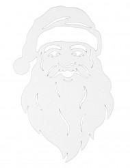 Dekoration til vindue julemand 35 cm