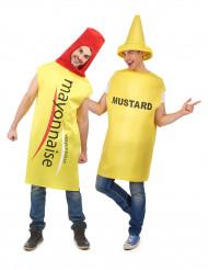 Parkostume mayonaisse og sennep