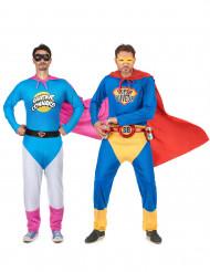 Parkostume Super Conrad og Super Buveur