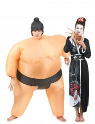 Parkostume sumo og geisha