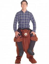 Kostume Carry Me Bamse til voksne