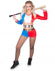 Kostume harlekin psykopat rebel til kvinder