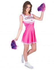 kostume pompom pige lyserød CHEERS til kvinder