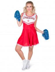 Kostume pompom pige CHEERS til kvinder