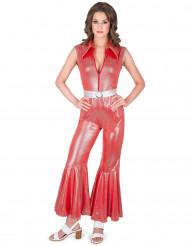 Kostume rød disco til kvinder
