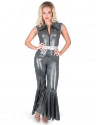 Kostume sølv disco til kvinder