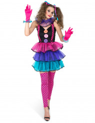 Kostume karneval klovn til kvinder