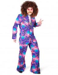 Kostume psykedelisk disco til mænd
