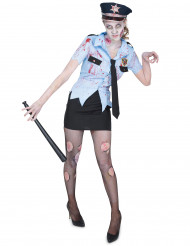 Kostume zombiepoliti til kvinder
