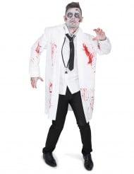 Kostume zombie doktor til mænd