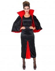 Kjole grevinde Dracula velour til kvinder