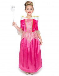 Kostume princesse fe lyserød til piger