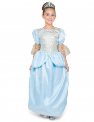 Kostume prinsesse med glas skoene