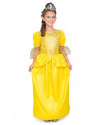 Kostume Belle princesse til piger