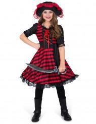 Kostume pirat til pige