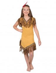 Kostume indianer fra den nye verden til piger