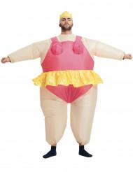 Kostume oppustelig ballerina til voksne!