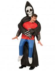 Kostume manden med leen oppusteligt