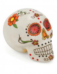 Dekoration farvet kranie Dia de los Muertos