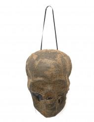 Lysende mumie dekorations kranie