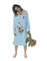 Kostume zombie natkjole til kvinder Halloween