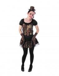 Kostume Miss Mechanic til teenagere Steampunk