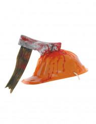 Hjelm med økske - Halloween hat til voksne